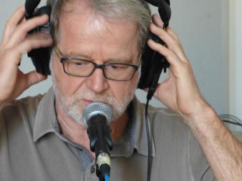 Rainer im Studio